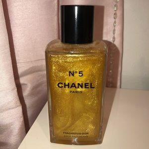 Chanel Fragments D'or gold fragments body gel
